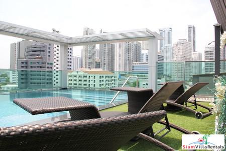 Spacious, Comfortable and Open Views from this Three Bedroom for Rent on Sukhumvit 26, Bangkok