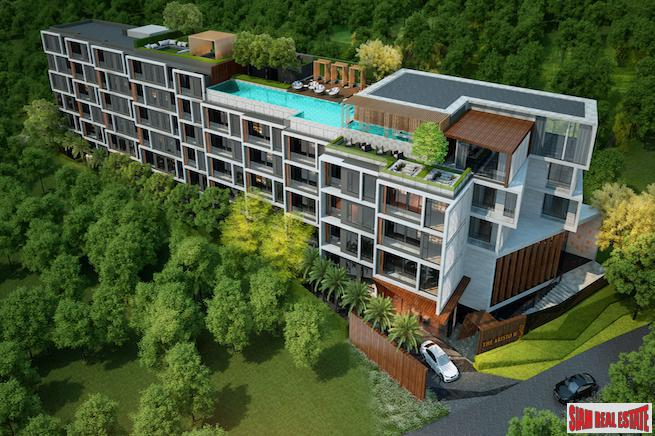 New Three Bedrooms in Luxury Hotel-Style Condominium Development, Surin Beach