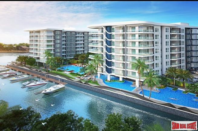 Resort Style Condo with Private Boat Marina in Pattaya (7% Rental Guarantee for 3 Years)