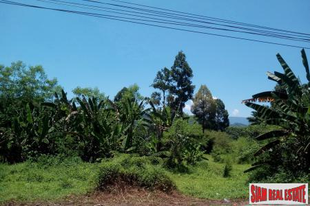 Over 20 Rai of Land for Sale in a Private Area of Phang Nga