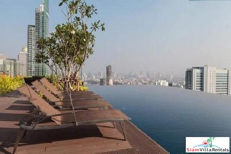 Luxurious Three Bedroom Duplex on the 38th & 39th Floor in Sathorn, Bangkok
