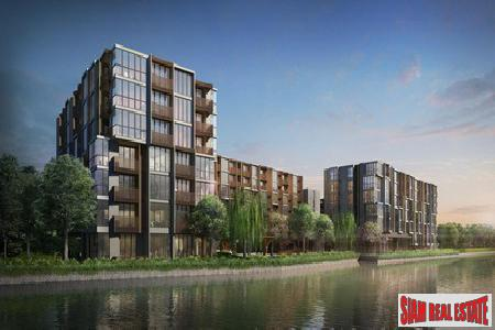 Two Bedrooms in New Low Rise Riverside Development, Phra Khanong