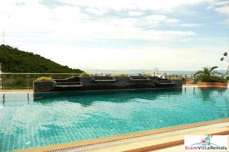 2Beds 108 Square Meters Corner Unit facing the Sea with Large Balconies on Pratumnak Hills Pattaya