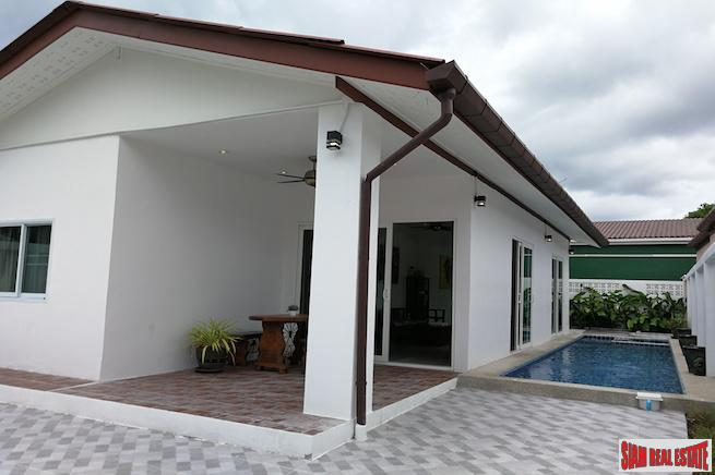 New Furnished Three Bedroom Private Pool Villa in Rawai