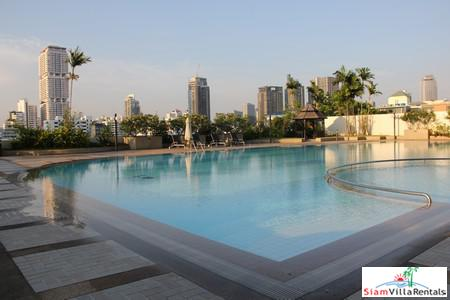 Extra Large Three Bedroom Corner Unit with Fantastic City Views on Sukhumvit 26