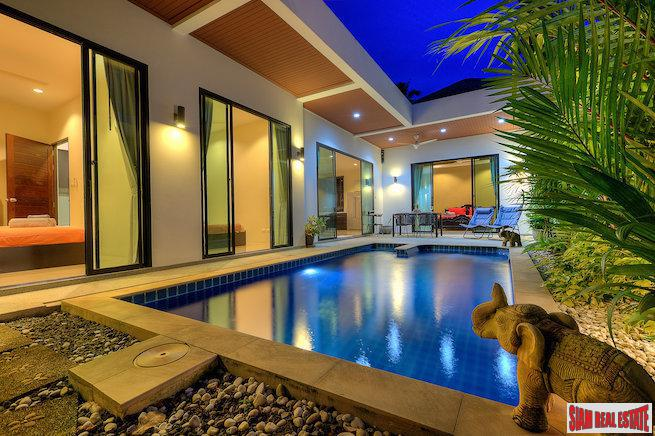 Bright and Open Three Bedroom Pool Villa in Rawai, Phuket