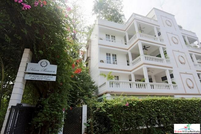 Navin Mansion Boutique Apartment Block of only 8 Units in Tropical Grounds at Chong Nongsi - Pets Allowed