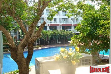 Beachfront 52 Sqm Studio Apartment For Rent  - Jomtien