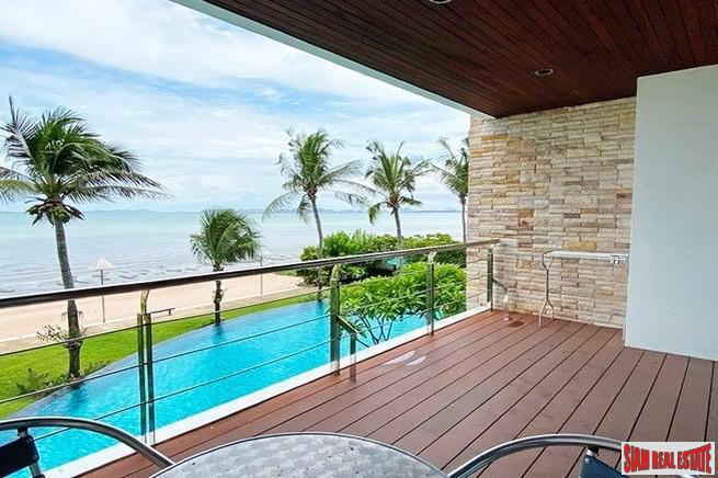 Beachfront Condominium-Fully Furnished Two Bed Condo For Rent - Pattaya