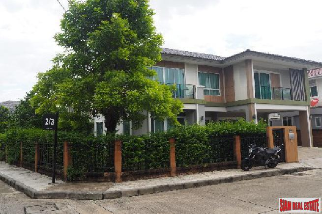 Three Bedroom, Two Storey House with Small Garden in Suan Luang, Bangkok