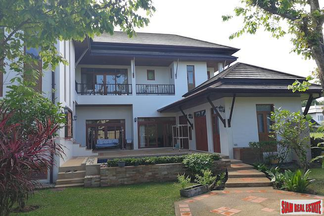 Beautiful and Peaceful Five Bedroom Home with Private Pool in Chalong