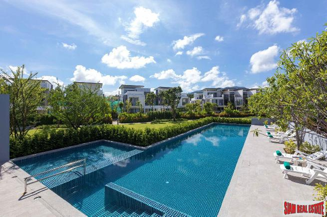 New Three Storey Corner Unit in Laguna, Phuket