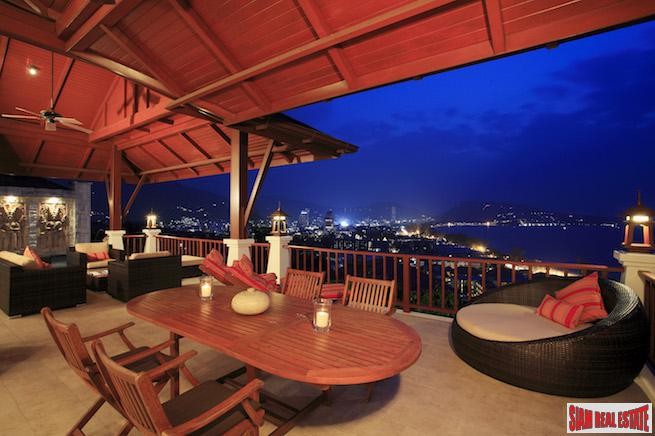 Exclusive  Private Pool Villa Overlooking the Breathtaking Views of Patong Bay