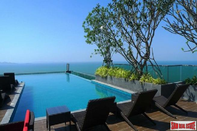 Luxury High Rise Condominium with Fantastic Sea View for Sale in Wongamat Pattaya