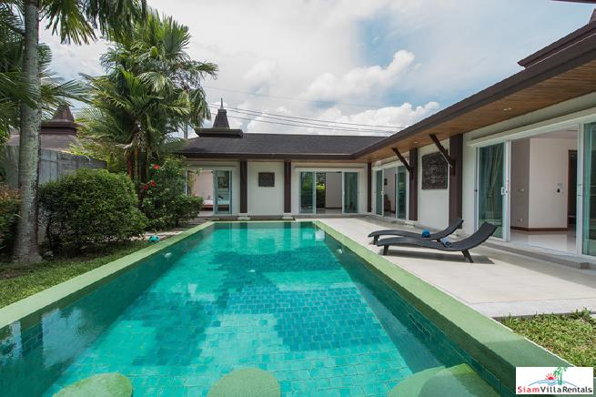 Private and Serene Pool Villa in Cherng Talay, Phuket