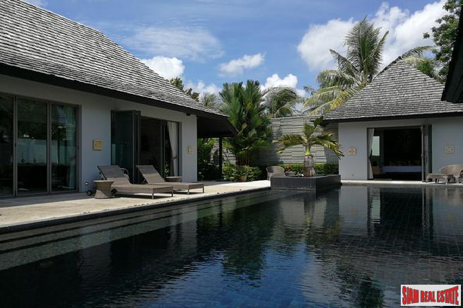 Exceptional Quality Three Bedroom Pool Villa in Layan