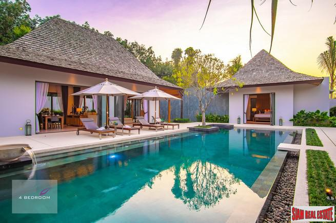 New Exclusive Bali-Style Pool Villas in Laguna, Phuket