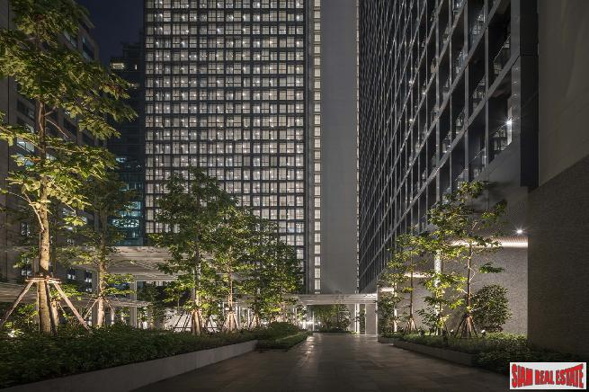 Completed Superior Condos in this New High-Rise within an Urban Oasis at BTS Ploenchit - One Bed Units