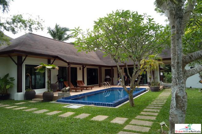 Three Bedroom Bali-Style Pool Villa for Rent in Rawai