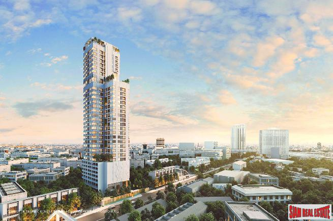 Trendy New Condo just Launched at Ladprao with Extended Facilities and Pet Friendly, next to MRT