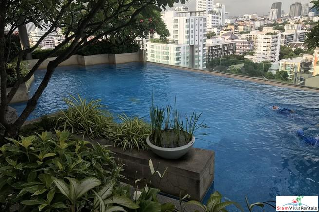 Great City Views from this Two Bedroom for Rent on Sukhumvit 31