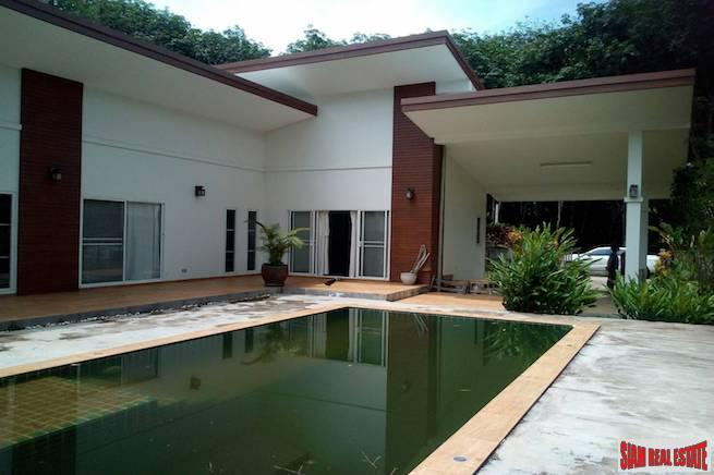 Remote Three Bedroom with Pool Surrounded by Tropical Beauty in Nong Thaley, Krabi