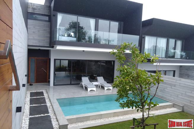 Private Mountain View Pool Villas in the Hills of Chalong
