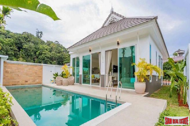 New Private Pool Villa Homes in the Kamala Hills