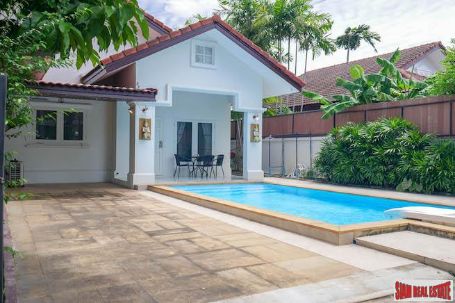 Charming Single Storey Three Bedroom House with Pool in a Secure  Peaceful Estate, Chalong