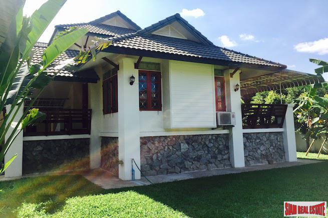 Large House with Private Garden Near CM University in Suthep, Chiang Mai