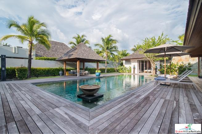 Luxurious Four Bedroom Pool Villa with Many Extras in Layan, Phuket