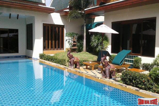 Three Bedroom Thai Style Pool Villa Near Laguna, Phuket