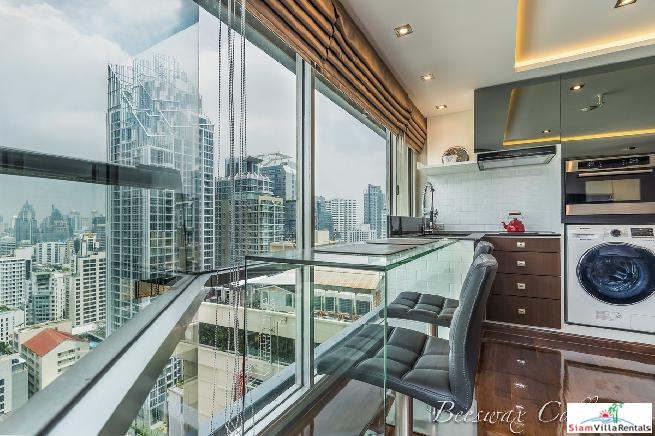 Classy One Bed Condo on 26th Floor of Sukhumvit Suites, Sukhumvit Soi 13
