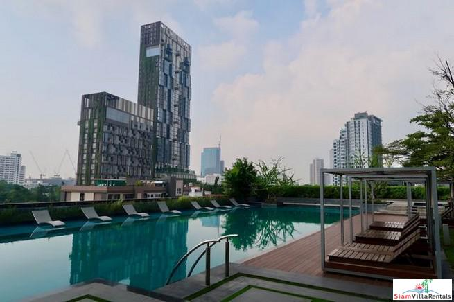City & River Views from this Two Bedroom in Thong Lo