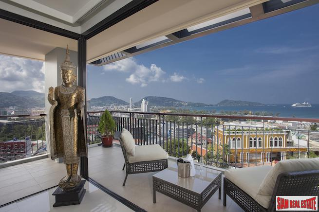 The Bliss |  Exceptional Corner Penthouse with Breathtaking Sea Views in Patong