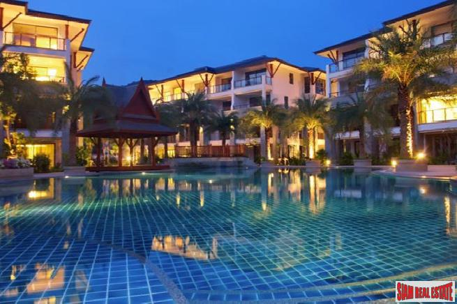 Large Three Bedroom Condo with Private Pool and Garden in Nai Thon, Phuket