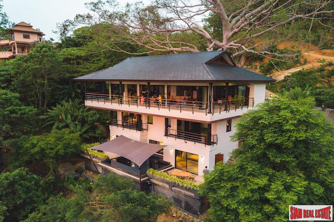 Exceptional Tropical Villa With Sea And Mountain View in Nai Harn