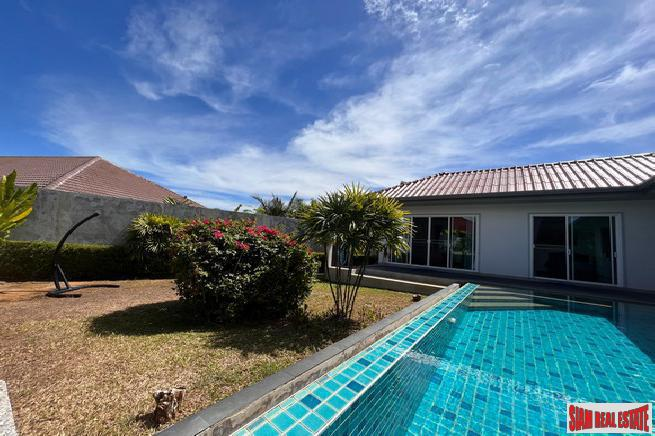 Large Three Bedroom House with Pool and Outside Living Area for Rent in Chalong