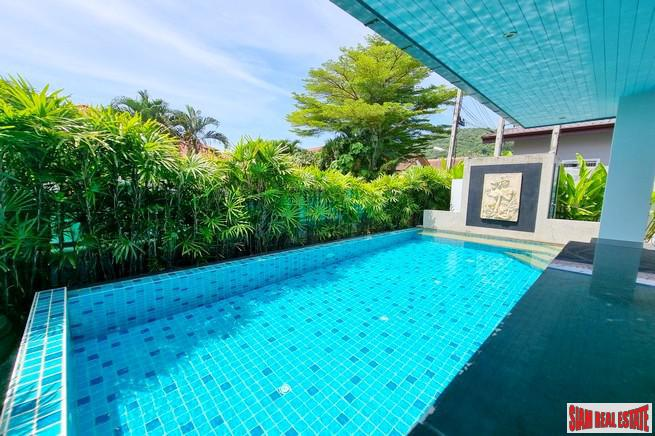 Two Bedroom House with Private Pool and Large Terrace for Rent in Chalong