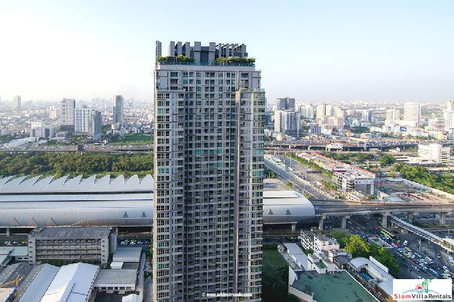 2 Bed Condo at The Addresss Asoke, Next To MRT and Airpot Link