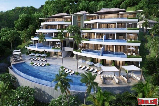 Sea View Three Bedroom Penthouses in Surin with Dazzling Views of the Andaman Coastline