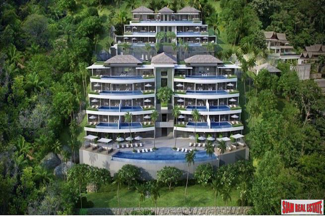 Two Bedroom Sea View Condominiums in Surin with Dazzling Views of the Andaman Coastline