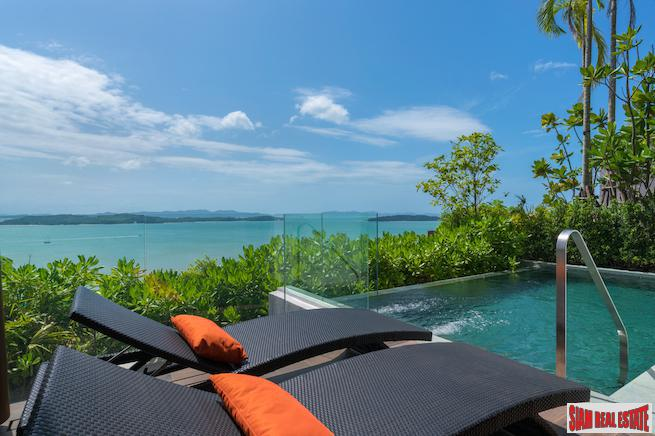 Magnificent Sea and Bay Views from These New Two Bedroom Villas in Ao Phor, Phuket