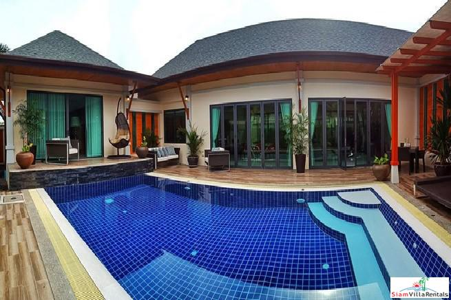 New Spacious Three Bedroom House with Private Pool in Rawai, Phuket
