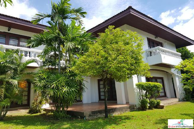Big Two Storey House on Large Lush Tropical Lot in Bang Na