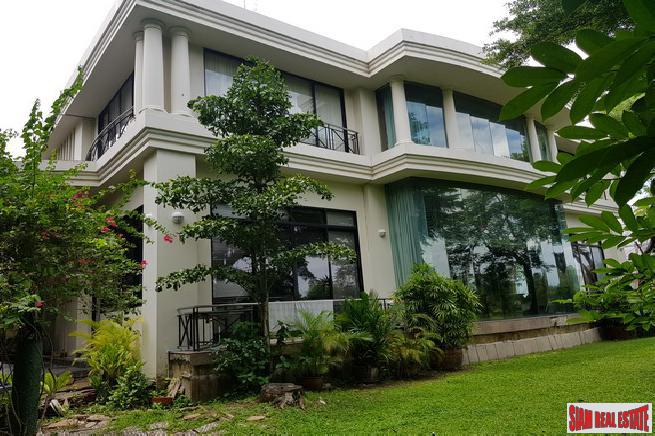Exquisite Five Bedroom Estate Home with River & Golf Course Views in Bangna-Trad