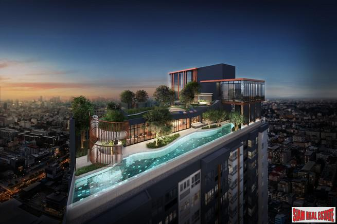 New High Rise Condo with Excellent Facilities next to MRT by Top Developer - Two Bed Units
