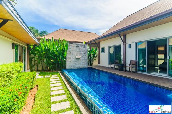 Private Three Bedroom Pool Villa in Exclusive Estate, Nai Harn, Phuket