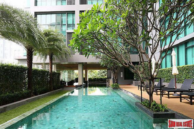Excellent Garden and City Views from this Two Bedroom Duplex on Sukhumvit 21