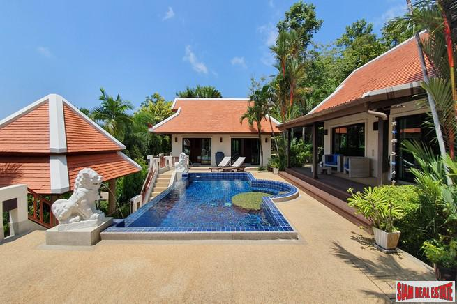 Beautiful Three Bedroom Pool Villa in an Exclusive Nai Harn Estate